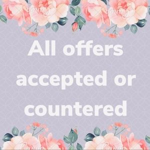 Other - Accepted or countered offers on items $11 or more